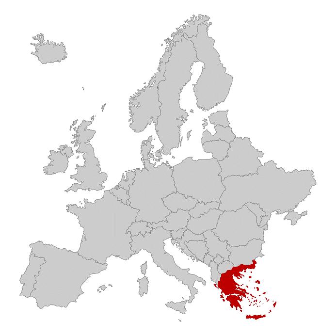 Griechenland rot